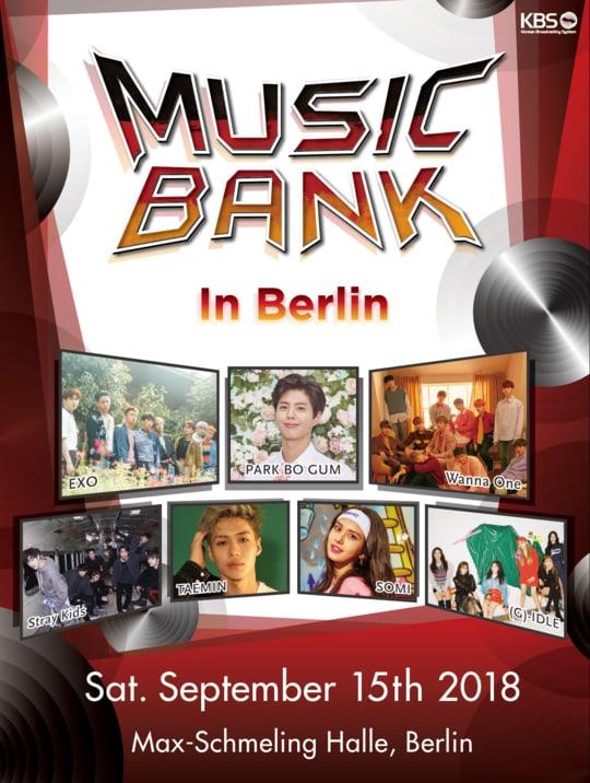Music Bank In Berlin - 뮤직뱅크